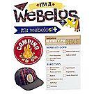 Webelos® 3D Stickers