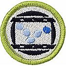 Animation Merit Badge Emblem