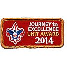 Journey to Excellence 2014 Unit Bronze Award