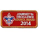 Journey to Excellence 2014 Council Bronze Award