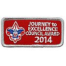 Journey to Excellence 2014 Council Silver Award