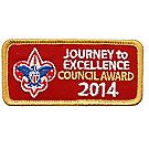 Journey to Excellence 2014 Council Gold Award