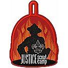 Justice Scout Camp Emblem