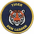 Tiger Den Leader Emblem