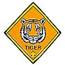 Tiger Staff Shield
