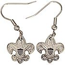 Universal Emblem Pierced Earrings