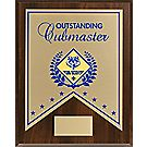 Outstanding Cubmaster Recognition Plaque