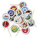 Eagle Scout® Merit Badge Cake Picks