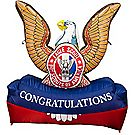 Eagle Scout® Inflatable Lawn Decoration