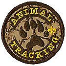 Animal Tracks Emblem