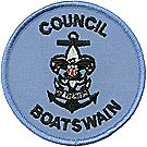 Sea Scouts® Council Boatswain Emblem
