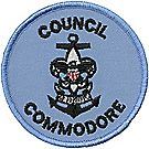 Sea Scouts® Council Commodore Emblem