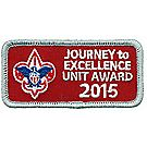 Journey to Excellence 2015 Unit Silver Award