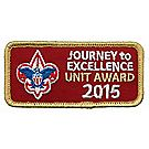 Journey to Excellence 2015 Unit Gold Award