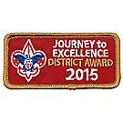 Journey to Excellence 2015 District Bronze Award