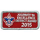 Journey to Excellence 2015 District Silver Award