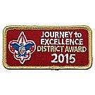 Journey to Excellence 2015 District Gold Award
