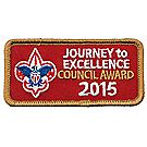 Journey to Excellence 2015 Council Bronze Award