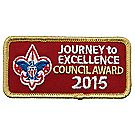Journey to Excellence 2015 Council Gold Award