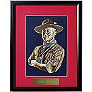 Lord Baden-Powell Embroidered Image