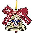 Embroidered Holiday Ornament 2015