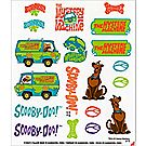 Pinewood Derby® SCOOBY-DOO™ Decals