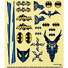 Pinewood Derby® Batman™ Decals