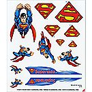 Pinewood Derby® Superman™ Decals