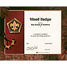 Wood Badge Participant Wall Certificate