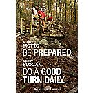 Two-Sided Poster: Boy Scout Motto and Slogan / Venturing Motto