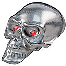 Pinewood Derby® Skull Tungsten Weight