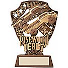 Pinewood Derby® Gold Award