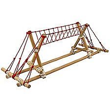 build a rope bridge instructions
