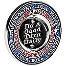 """Do a Good Turn Daily"" Spinner Coin"