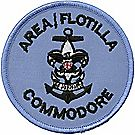 Sea Scouts® Area/Flotilla Commodore Emblem
