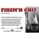 Firem'n Chit Pocket Certificate