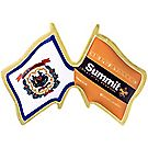 West Virginia/Summit Bechtel Reserve® Crossed-Flags Pin