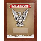 Eagle Scout® Mahogany Shadowbox Plaque