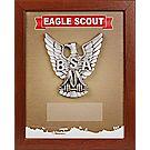 Eagle Scout® Mahogany Shadowbox Plaque