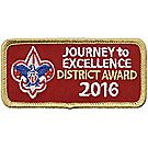 Journey to Excellence 2016 District Gold Award