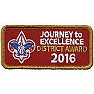 Journey to Excellence 2016 District Bronze Award