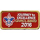 Journey to Excellence 2016 Council Gold Award