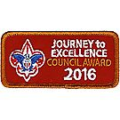 Journey to Excellence 2016 Council Bronze Award