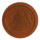 2017 Jamboree® Logo Leather Emblem