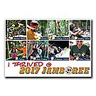 """I THRIVED @ 2017 JAMBOREE"" Postcard"
