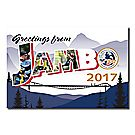 2017 Jamboree® Greetings Postcard