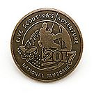 2017 Jamboree® Antique-Brass-Finish Pin