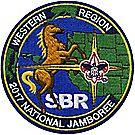 2017 Jamboree® Western Region Emblem