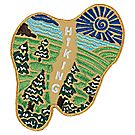 Hiking Emblem