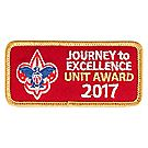 Journey to Excellence 2017 Unit Gold Award